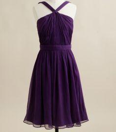Purple Bridesmaid - @Cassandra Dowman Guild Brinkman