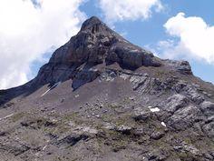 Anie, Auñamendi o Pic d'Anie desde el Collado de Ernaz (Pirineo Occidental)