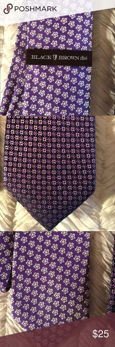 Brand-new 100% silk tie bundle to save 15%! Silk tie new with tags excellent new condition. Black Brown 1826 Accessories Ties