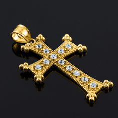 Gold Armenian Cross