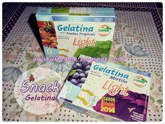 Gelatina Light de Mirtilo da marca Condi