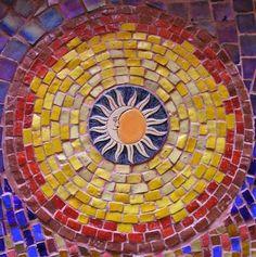 Image detail for -Custom Mosaic Art by Anima Mosaic Crafts, Mosaic Projects, Mosaic Art, Mosaic Glass, Glass Art, Stained Glass, Mosaic Ideas, Tile Mosaics, Tiling