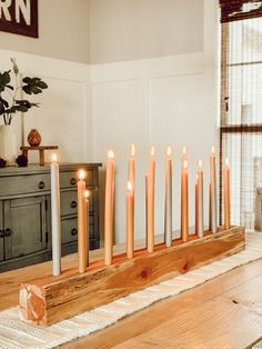Making your house a home one special moment at a time. Wood Candle Holders, Diy Candlestick Holders, Diy Candlesticks, Home Projects, Diy Furniture, Diy Home Decor, Easy Diy, Rustic, Architecture