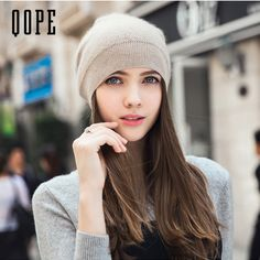 2017 New Cashmere hat Winter Hats For Women High Quality Warm Women'S Brand Casual Knitted Vogue Hat Female Skullies Beanie cap