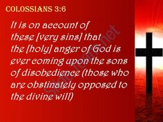 0514 colossians 36 the wrath of god is coming powerpoint church sermon Slide04 http://www.slideteam.net/