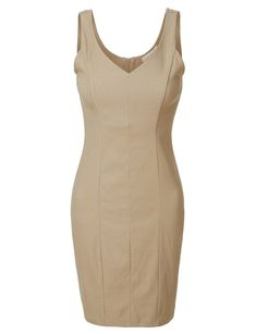 womens sexy v neck dress, womens fitted dress, womens bodycon dress, womens sleeveless sexy dress, womens sleeveless bodycon dress Dress Codes, Fashion Outfits, Womens Fashion, I Dress, Dresses For Work, Women's Dresses, Evening Dresses, Bodycon Dress, Clothes For Women