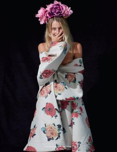 """Dree Hemingway in """"Red Roses in My Garden"""" (Muse Magazine)"""