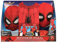 Imagine by Rubies SpiderMan Homecoming Reversible Costume Top and Web Back Pack Small ** Click the photo for extra information. (This is an affiliate link). Spiderman Homecoming Costume, Spider Man Homecoming 2, Costumes For Sale, Halloween Costumes For Girls, Christmas Costumes, Image Spiderman, The Amazing Spiderman 2, Sonic Birthday, Avengers Birthday