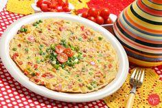 Idée recette : Tortilla de légumes du Midi