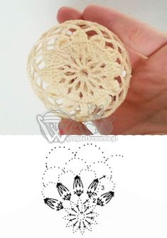 Best 12 U Kathryn : Szydełkowe bombki-wzory/Crochet baubles-patterns – SkillOfKing. Christmas Crochet Patterns, Crochet Christmas Ornaments, Crochet Snowflakes, Christmas Baubles, Christmas Crafts, Christmas Decorations, Crochet Ball, Crochet Chart, Crochet Gifts
