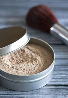 Homemade Loose Powder | Easy Makeup Recipe Ideas For DIY Cosmetics Makeup Tutorials