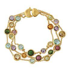 coloured stone bangle bracelet - Google Search