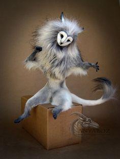 Barn Owl Sprite Room Guardian by AnyaBoz on DeviantArt