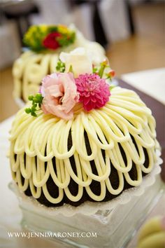 This is so sweet, and prepared using Bundt Cakes~Looks like Easter, to me~❥