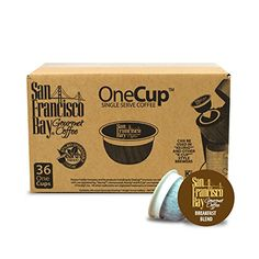 San Francisco Bay OneCup, Breakfast Blend, 36 Single Serve Coffees San Francisco Bay Coffee  http://amzn.to/1K3Bunh