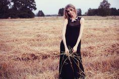 Olga POKRYWKA fashion collection  #spring #summer #maxidress #blackdress