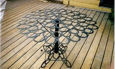 Cowgirl Couture Table by AspenIronworks on Etsy