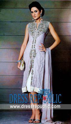Lilac Trinny, Product code: DR1883, by www.dressrepublic.com - Keywords: Pakistani Shalwar Kameez Designs, Pakistani Salwar Kameez Designs
