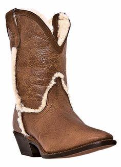 Dingo Women's 5 Below Tan Leather Boots DI7399