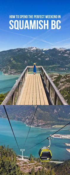 Squamish is a beautiful spot! Here are 15 Incredible Things to Do in Squamish BC. Backpacking Canada, Canada Travel, Canada Trip, Places To Travel, Places To Visit, Thailand, Vancouver Travel, Canada Destinations, Visit Canada