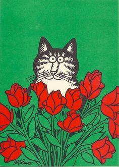 Vintage Note Cards B. Kliban Cat 1979.love!