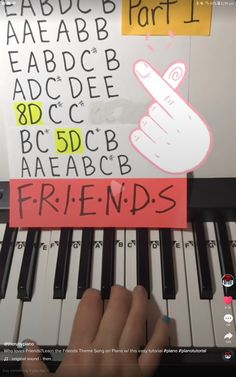 Piano Music With Letters, Piano Sheet Music Letters, Piano Music Notes, Easy Piano Sheet Music, Flute Sheet Music, Music Chords, Ukelele, Piano Tutorial, Kalimba