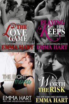 Românticos Books: Emma Hart - The Game #1 a #4