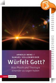 """Würfelt Gott?    ::  Sind wir tatsächlich nur """"Zigeuner am Rand des Weltalls"""", die sich einem absurden Zufall verdanken, oder sind wir die Wesen, in denen der Kosmos, Gottes Schöpfung, zu sich selber kommt? Die beiden Autoren - ein Theologe und ein Physiker - halten uns keine langatmigen Vorträge, sondern nehmen uns mit auf eine Reise durchs All! Verpackt in eine spannende Science-Fiction-Erzahlung, werden wir auf unterhaltsame Weise mit Urknall, Quantentheorie, Paralleluniversen usw. ..."""
