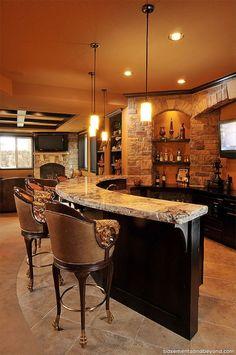 50 Stunning Home Bar Designs