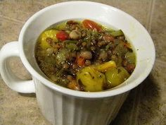 Specific Carbohydrate Diet For Life: SCD Recipe: Veggie Chili