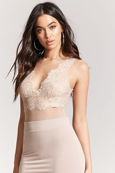 Product Name:Contemporary Sheer Bodysuit, Category:CLEARANCE_ZERO, Price:18