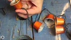 Resultado de imagem para enfeites de natal com capsulas de cafe