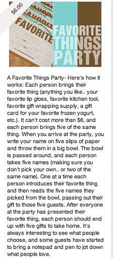 Fun idea for our girls night