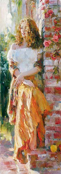 Waiting in the Courtyard by Michael Garmash