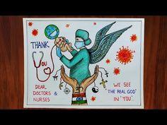 Nurse Drawing, Doctor Drawing, Warrior Drawing, Cartoon Girl Drawing, Girl Cartoon, Earth Drawings, Art Drawings For Kids, Drawing For Kids, Alphabet Tattoo Designs