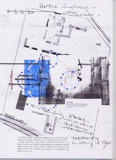 Spatial Apparatus/Architectural Practices  The Feeling of Things  Architectural Plan Collage Text Inclusions Diagrams  Derrida for Architects