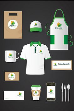 Your organic food shop or restaurant is a noble business. That is why the Organic Food Restaurant Identity Mockup is perfect for you. Organic Food Shop, Benefits Of Organic Food, Fruit Packaging, Food Packaging Design, Corporate Identity Design, Branding Design, Juice Bar Design, Juice Menu, Vegetable Shop