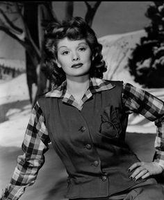 Lucille Ball circa 1945