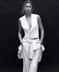 Doutzen Kroes by Daniel Jackson for Harper's Bazaar US March 2012