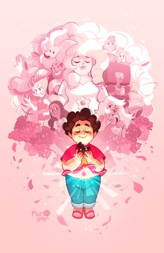 madidrawsthings:  AX is coming up quick and I just wanted to share my finished version of the print I have for Steven Universe. It's an 11x17 inch print and if there's any leftovers from the convention I'll be selling them online (along with other prints and keychains).I'll be posting more of the stuff I have for AX for you guys throughout the week and I hope you guys like them uvu;;