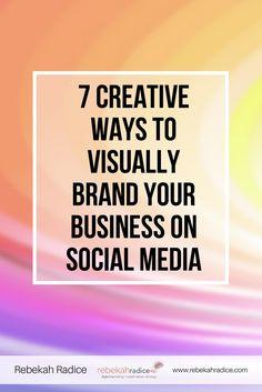 7 Creative Ways to V