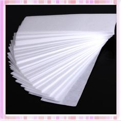 100 Pcs Professional Facial and Body Hair Removal Wax Strips Paper Depilatory Nonwoven Epilator Leg Hair Removal, Wax Strips, Shaved Hair, Wax Paper, Nail Tools, Face Skin, Beauty Nails, Cool Things To Buy, Health And Beauty