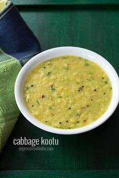 cabbage kootu recipe, how to make cabbage kootu | cabbage dal recipe