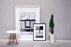 Magnum frames with art photograpy of Kaatje Verschoren by XLBoom