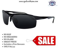 Eye Love Heavy Duty, Unbreakable Aluminum Magnesium Alloy Polarized Sunglass is now on SALE! Click here >>> https://www.amazon.com/gp/product/B00YCHUTI0/ref=as_li_tl?ie=UTF8&tag=pinterestjoana-20&camp=1789&creative=9325&linkCode=as2&creativeASIN=B00YCHUTI0&linkId=9392d4524caf7adc9b43040af96cdc5c  #eyelovethesun #sunglasses