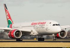 Kenya Airways 5Y-KZA aircraft at Amsterdam - Schiphol photo