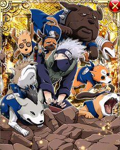 Kakashi Hatake Ninken by AiKawaiiChan on DeviantArt Kakashi Hatake, Naruto Sasuke Sakura, Naruto Cute, Naruto Shippuden Sasuke, Boruto, Anime Echii, Fanarts Anime, Anime Comics, Naruto Summoning