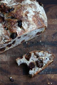 Walnut Raisin Nut Bread (if you click on the pic, it just brings you to the site. here is the direct recipe link   http://www.blueeyedbakers.com/home/2011/3/21/walnut-raisin-bread.html