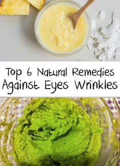 The skin around the eyes become more sensitive with passing the years and slowly the eye wrinkles appear. Here are natural remedies against eyes wrinkles! Diy Beauty Care, Beauty Hacks Skincare, Natural Beauty Remedies, Natural Beauty Tips, Beauty Tips For Hair, Beauty Guide, Beauty Tricks, Beauty Ideas, Beauty Hacks Eyelashes