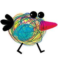 Spring Crafts For Kids Drawing For Kids, Art For Kids, Kindergarten Art Projects, Spring Crafts For Kids, Bird Theme, Bird Crafts, Spring Art, Art Lessons Elementary, Bird Illustration